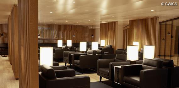 Das neue SWISS Lounge Center A
